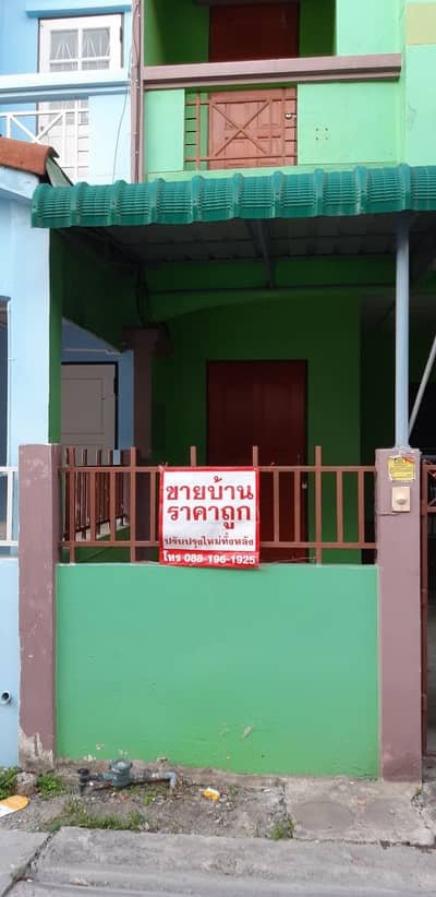 2 Bedroom Townhouse for Rent in Mueang Chon Buri, Chonburi - Two storey townhouse for rent, California village, Chonburi.