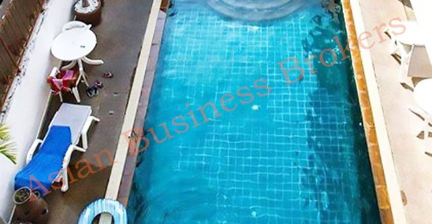 4802020 18 room apartment building for sale on a hill in Patong.