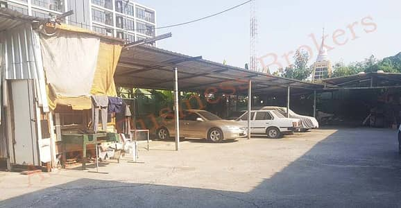 Land for Rent in Phra Khanong, Bangkok - 0133044 Land for rent, size 500 square meters, suitable for building a seafood shop, Bangkok