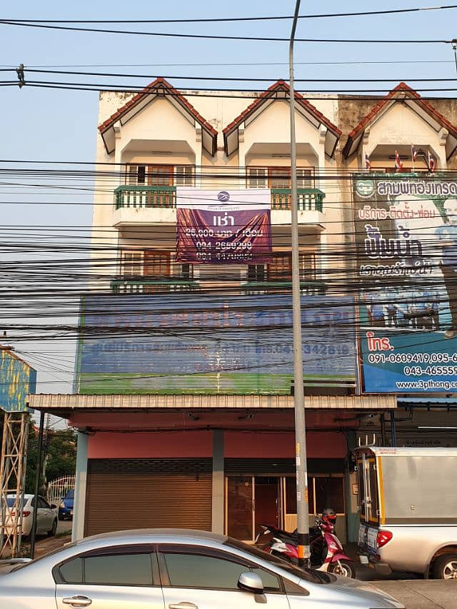 For rent, 2 commercial buildings, 4 floors, next to Friendship Road.