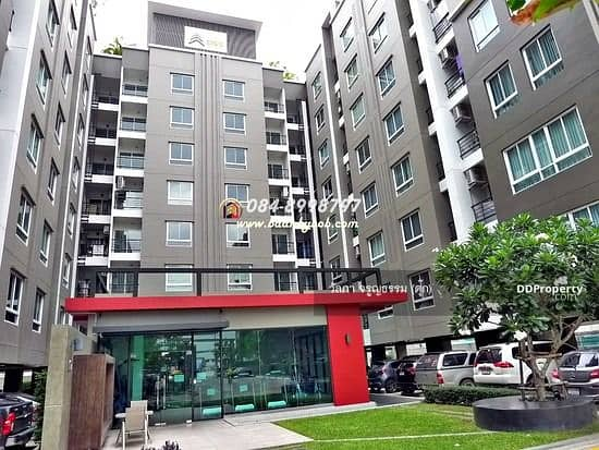 Condo for sale Low Rise Cool Condo Rama 7 (Cool Condo Rama 7), 6th floor, size 25.62 sq. m. , studio room, free furniture and appliances. Ready to move in for sale