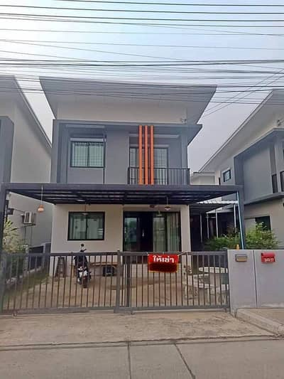 2 Bedroom Townhouse for Rent in Hot, Chiangmai - For rent, The Palm Garden 5 project, rent 11,000, contract 1 year