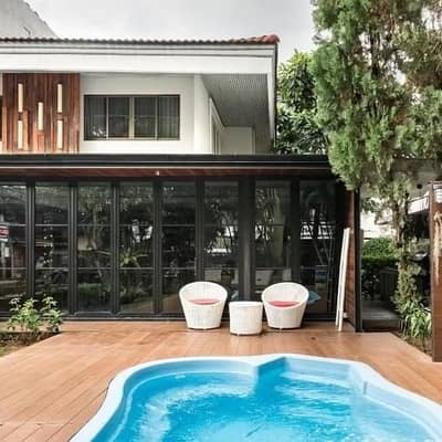 5 Bedroom Home for Rent in Mueang Chiang Mai, Chiangmai - Villa Nimman Chiang Mai, a private villa and one of the best sellers in Chiang Mai,  Lanna style.