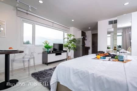 1 Bedroom Condo for Rent in Mueang Chiang Mai, Chiangmai - Condo for rent in the project 103 Condominium 5 Suthep, Mueang Chiang Mai Near Chiang Mai University Near Nimman Road Near Suan Dok Hospital