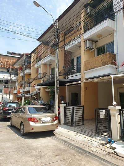 3 Bedroom Townhouse for Sale in Suan Luang, Bangkok - H499-For sale, 3-storey townhome, My Place Village, Sukhumvit 77, On Nut 17, Intersection 16 (empty house) Convenient transportation near BTS On Nut
