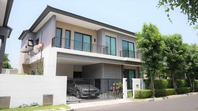 House for sale The City The City Ngamwongwan 47 (Soi Chinnakhet 2) area 65.9 sq m, usable area 275 sqm.
