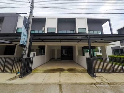 3 Bedroom Townhouse for Rent in Hang Dong, Chiangmai - 2-storey townhome for rent, Malada mazz project, 3 bedrooms, Chiang Mai-Hang Dong Road • near Kad Farang, near international schools