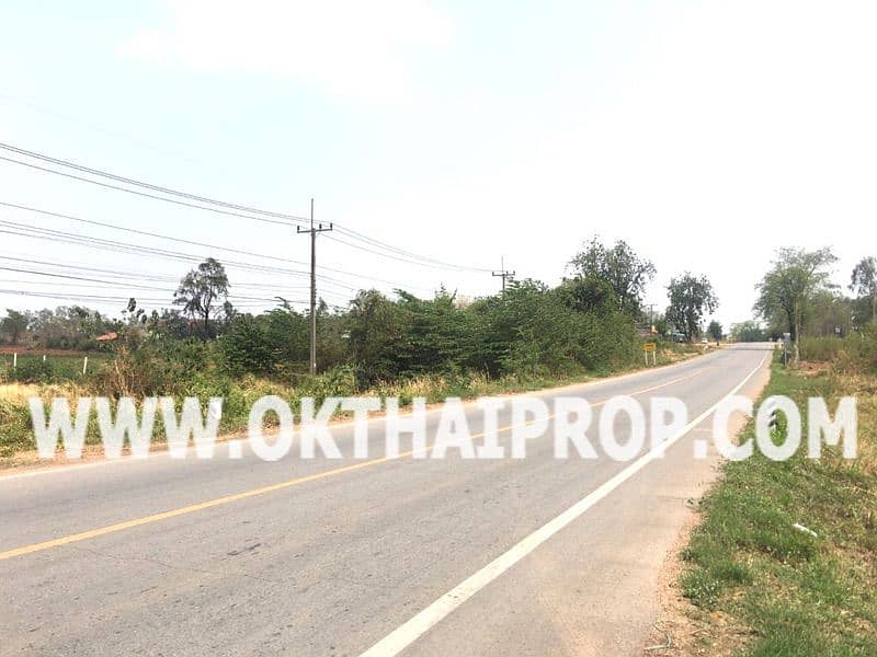 Land on the road, Nong Bua Rawe District, Chaiyaphum Province.