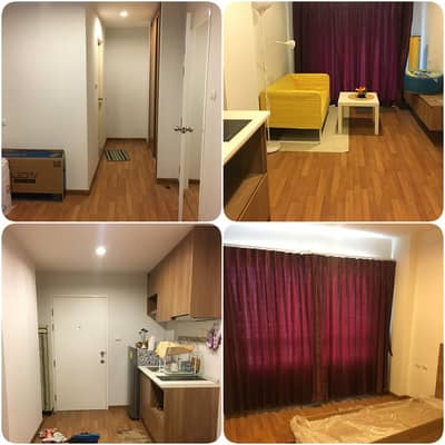 1 Bedroom Condo for Rent in Mueang Chon Buri, Chonburi - For rent, T Plus Condo, Amata Nakorn, pool view, fully furnished, only 7000 baht.