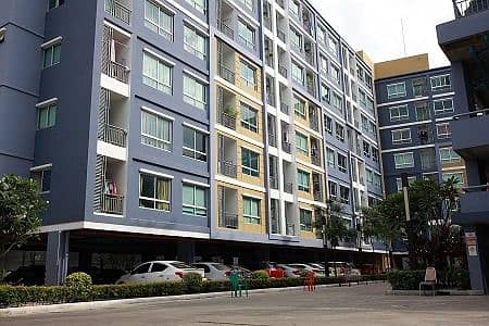 2 Bedroom Condo for Sale in Bang Kho Laem, Bangkok - Condo for sale or rent in August, with 2 bedrooms, fully furnished, SB, 2 air conditioners, new rooms, inexpensive