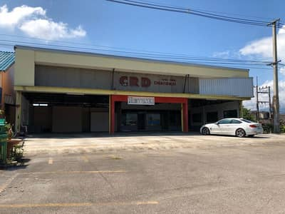 Commercial Building for Sale in San Sai, Chiangmai - Sale of land with buildings on the road Sansai Sai Kao (opposite Home Pro San Sai)