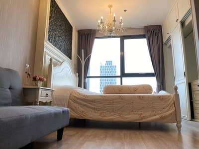 Condo for Sale in Phra Khanong, Bangkok - M3698-Condo for sale and rent, Ideo Mobi Sukhumvit 81, near BTS On Nut, has a washing machine. Fully furnished, ready to move in