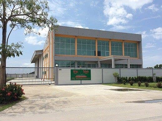 Factory with a new office in a prime location
