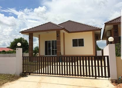 2 Bedroom Home for Rent in Ban Phai, Khonkaen - Single storey house for rent, Baan Pai, Khon Kaen, shady atmosphere
