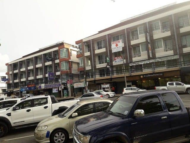 Commercial building for rent, the best view location in the city, slope, crab black, Khao Khanab Nam, Krabi Province