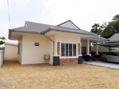 3 Bedroom Home for Sale in Ban Lat, Phetchaburi - New one-story house, 86 square meters