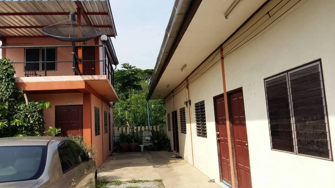 Two-storey house with 8 rooms for rent, Thap Kwang Subdistrict, Kaeng Khoi District