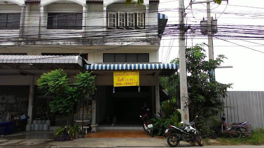 Cheap commercial buildings for sale Two and a half floors, commercial location, housing business area, Safe One, Khlong Song Nam Road, near Seven (Near 80th Anniversary Stadium) Nakhon Ratchasima