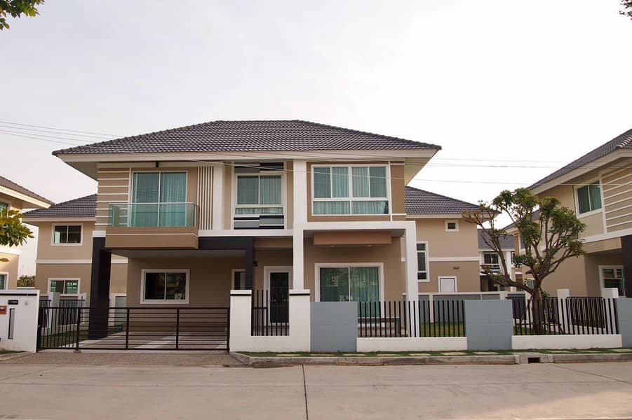 New house for rent in Kanok 12 project.