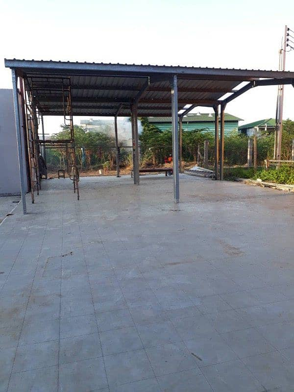 Warehouse, open space and land for rent