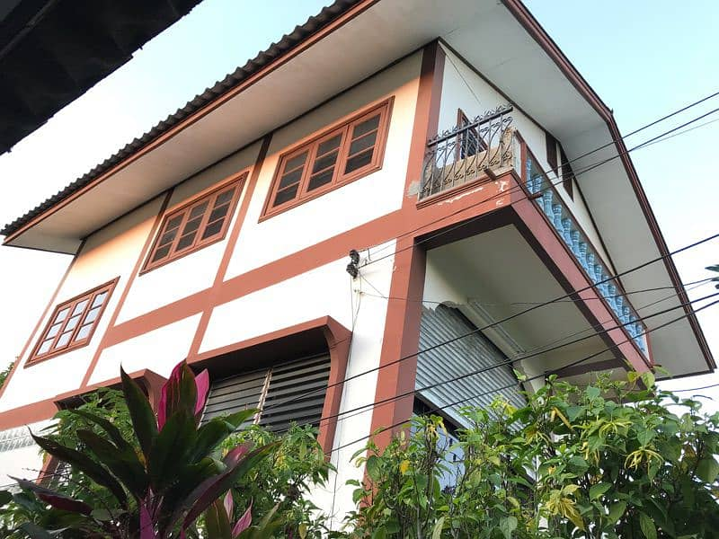 House for rent in Mueang Lamphun district, good condition, parking.