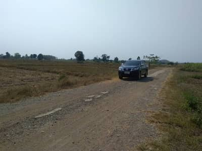 Land for Sale in Si Satchanalai, Sukhothai - Land for sale 4 rai 21 square meters behind the irrigation.
