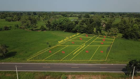 Land for Rent in Kantharawichai, Mahasarakham - Urgent land for sale near the U. S.