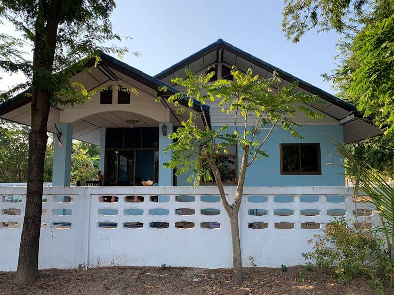 House with land In Muang Sarakham district