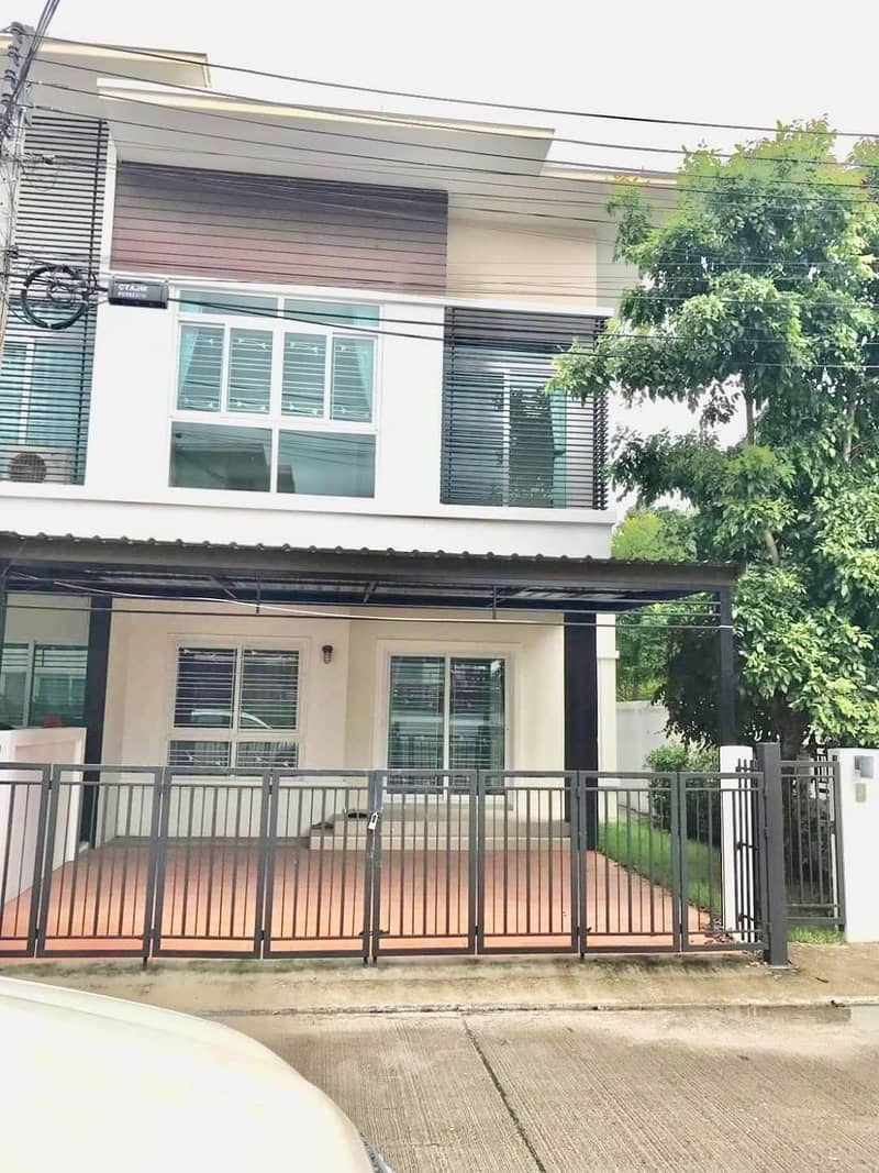House for sale, townhome, 2 floors, Chiang Mai.