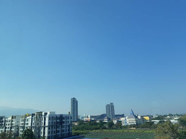 For rent condo My Hip 2, 7th floor, room 705, good weather, Doi Suthep view