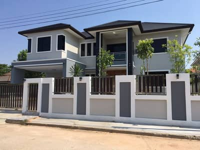 4 Bedroom Home for Sale in Mueang Maha Sarakham, Mahasarakham - 2 storey house for sale, newly built