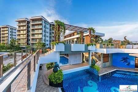 1 Bedroom Condo for Rent in Mueang Phuket, Phuket - Chalong Miracle Lakeview | One Bedroom Lake View Condo for Rent in Chalong