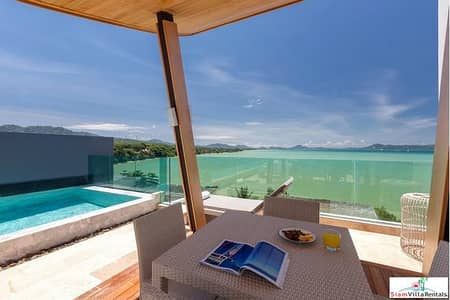 4 Bedroom Home for Rent in Mueang Phuket, Phuket - Eva Beach | Luxury Four Bedroom House with Sea Views for Rent in Rawai