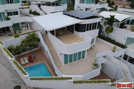 4 Bedroom Home for Rent in Mueang Phuket, Phuket - Baan Chalong Residence | Four Bedroom Private Pool Villa for Rent & Top Floor Terrace with City Views