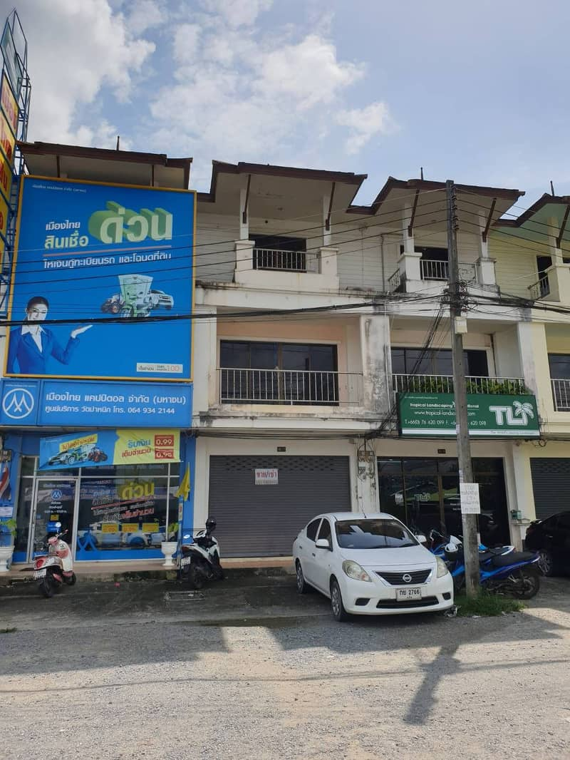 Commercial building for rent in Thalang, Phuket