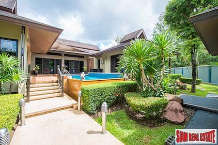 3 Bedroom Home for Sale in Mueang Phuket, Phuket - Tropical Private Home with Salt Water Pool in Chalong, Phuket