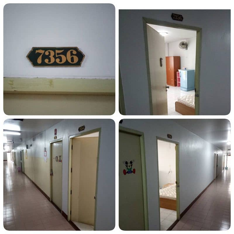 Room available for rent, cool air, clean room, fully furnished.