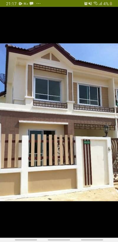 3 Bedroom Townhouse for Rent in Phra Samut Chedi, Samutprakan - For rent, a new 2-storey townhouse, cheap, recently completed Rama 2 Prachauthit 90, Rama II expressway, special price 9,000 baht per month