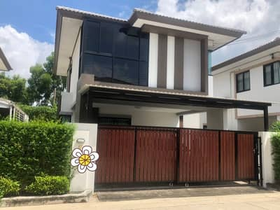 3 Bedroom Home for Rent in Phutthamonthon, Nakhonpathom - Rent or sell a detached house at Fah Greenery Village Pinklao - Sai 5