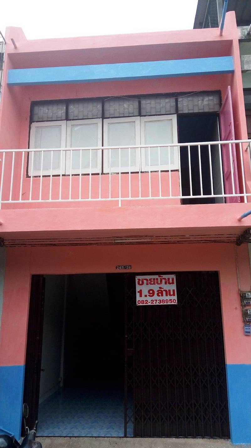 2 storey house for sale in the city of Surat Thani (adjust the price from 1.9 million baht to 1.5 million baht