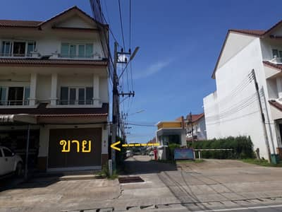 Commercial Building for Sale in Mueang Nakhon Si Thammarat, Nakhonsithammarat - 3-storey commercial building for sale, Wanna house project On the roadside of Wat Bot, the water does not flood, Nakhon Si Thammarat Province