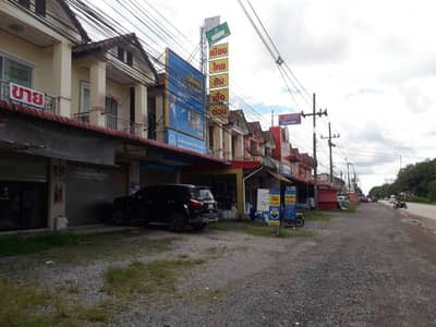 Commercial Building for Sale in Ratsada, Trang - 2-storey building in front of the road, commercial or residential location, Ratsada, Trang