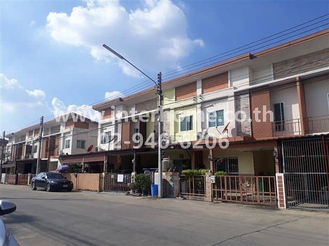 Townhouse 2 floors 21.3 sq. w. The First Home Village Rangsit-Nakhon Nayok Road