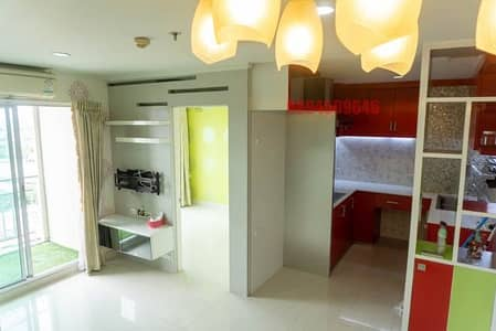 2 Bedroom Condo for Sale in Mueang Nonthaburi, Nonthaburi - Condo for sale at LPN Pibulsongkram, 2 bedrooms, 56 sq m, river view, high floor, new decoration, built-in room