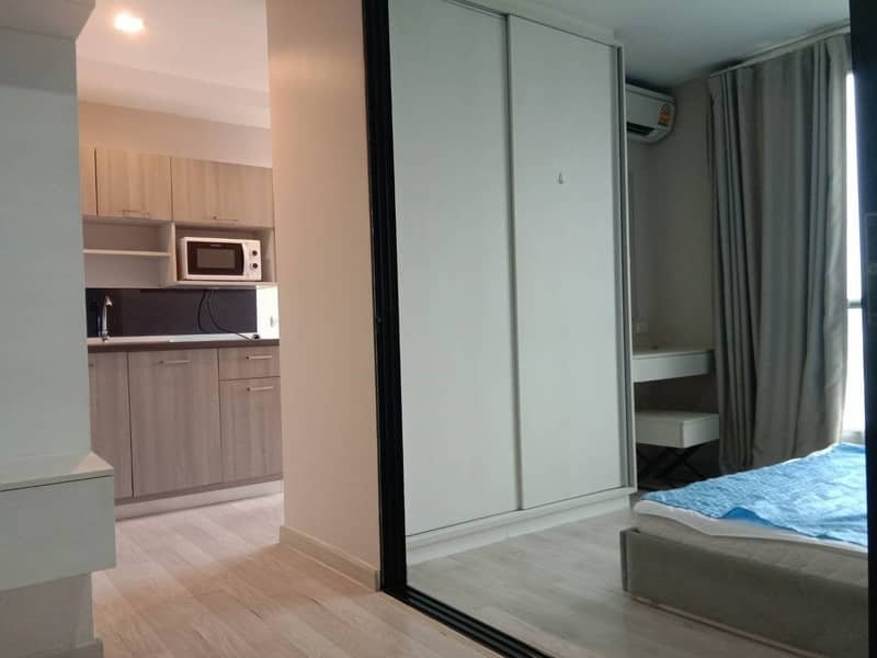 Urgent sale, The Privacy Pracha Uthit condo, ready to furnish, selling price 1.63 million baht.