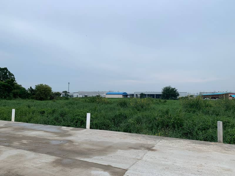 Land for sale in purple area 14 rai in Amata Industrial Estate Chonburi can build all types of factories. (Sell by owner)