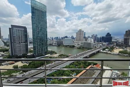 2 Bedroom Condo for Sale in Sathon, Bangkok - Baan Sathorn Chaophraya | Exceptional River Views from this Two Bedroom Condo for Sale in Saphan Taksin
