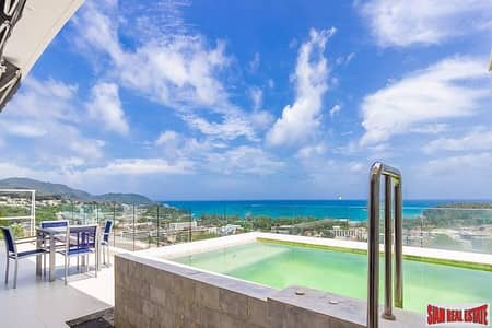 3 Bedroom Condo for Sale in Mueang Phuket, Phuket - The View Kata   Sea View Penthouse with Private Pool