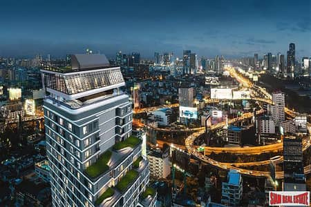 1 Bedroom Condo for Sale in Ratchathewi, Bangkok - Just Completed Luxury High-Rise Condo with 360 Roof Pool at Victory Monument, Phaya Thai - Studio Units