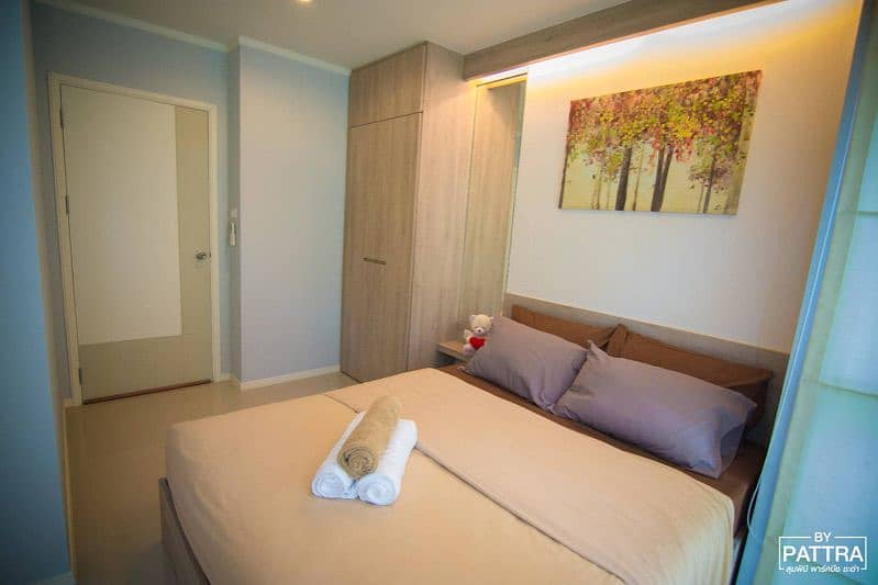 Condo for sale, rent, Lumpini Park Beach Cha-am, 2nd floor, room 206, has everything ready.